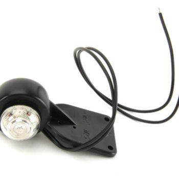 125 W23 lampa obrysowa wisząca diodowa, biało-czerwona 12V/24V uniwesl.