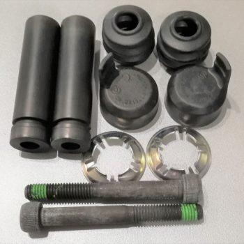 IVECO zestaw naprawczy zacisku h-ca na 1 koło (śruby mocujące, tulejki śrub, kapturek ochronny) IVECO DAILY S2006