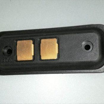500323289 Złączka elektryczna drzwi bocznych IVECO DAILY FIAT DUCATO 2 PINY. Płytka stykowa 2 pinowa drzwi Iveco