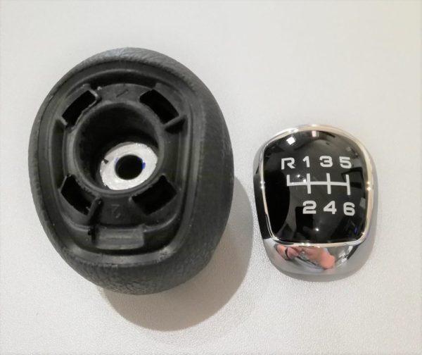 5802470372 Gałka zmiany biegów Iveco Daily. Dla wersji: 6 biegów